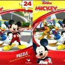 Disney Junior Mickey - 24 Piece Jigsaw Puzzle - (Set of 2)