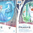 Disney Frozen II - 48 Shaped Puzzle - (Set of 2)