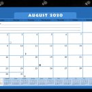 2020-2021 Academic Year 12 Months Student Calendar/Planner, Desk or Wall, Use -v044