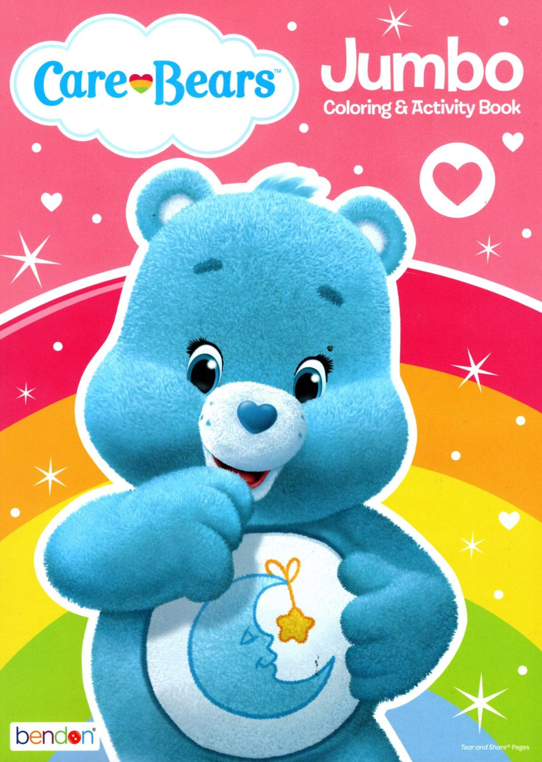 Care Bears - Jumbo Coloring & Activity Book v3