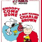 Peanuts Double Feature: Snoopy Come Home and A Boy Named Charlie Brown DVD