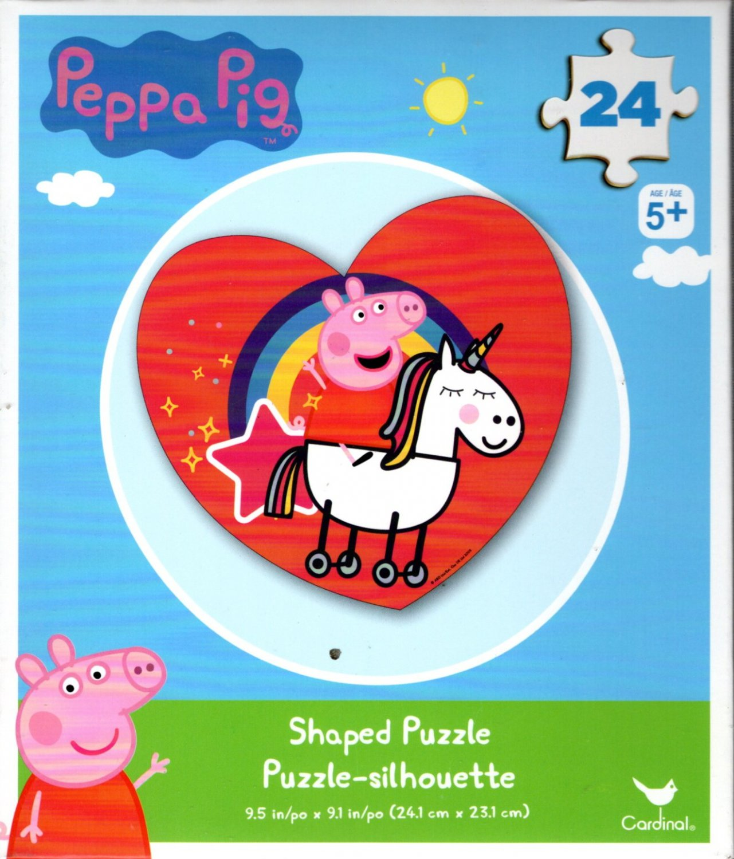 Peepa Pig - 24 Shaped Puzzle v2