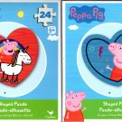 Peepa Pig - 24 Shaped Puzzle - (Set of 2)