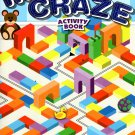Maze Craze Activity Book for Kids Easy Medium Hard Levels - v1