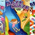 Maze Craze Activity Book for Kids Easy Medium Hard Levels - (Set of 3 Books)