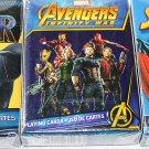 Aquarius 3 Packs Decks Playing Cards Marvel Avenger Infinity Spider-Man Black Panther