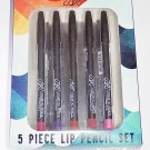 BR Cosmetics 5 Piece Lip Liner Set