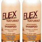 Flex Naturals Moisturizing Shampoo Raw Shea Butter 16 oz 2 Pack