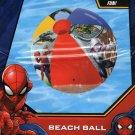 "Marvel Spider-Man - 17.5"" Beach Ball - Includes Repair Kit"