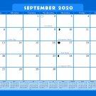 2020-2021 Monthly Magnetic/Desk Calendar - 16 Months Desktop - (Edition #21-6)