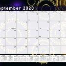 2020-2021 Monthly Magnetic/Desk Calendar - 16 Months Desktop - (Edition #09)