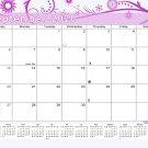 2020-2021 Monthly Magnetic/Desk Calendar - 16 Months Desktop - (Edition #10)
