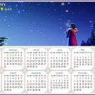 2021 Magnetic Calendar - Calendar Magnets - Today is My Lucky Day - Edition #28