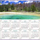 2021 Magnetic Calendar - Calendar Magnets - Today is My Lucky Day - Edition #29
