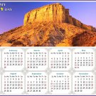 2021 Magnetic Calendar - Calendar Magnets - Today is My Lucky Day - Edition #28b