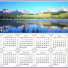 2021 Magnetic Calendar - Calendar Magnets - Today is My Lucky Day - Edition #15