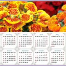 2021 Magnetic Calendar - Calendar Magnets - Today is My Lucky Day - Edition #13