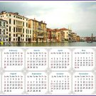 2021 Magnetic Calendar - Today is My Lucky Day - Venice Grand Canal