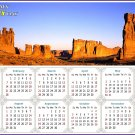 2021 Magnetic Calendar - Today is My Lucky Day - (Arches National Park)