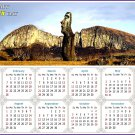 2021 Magnetic Calendar - Today is My Lucky Day - (Easter Island Beauty)