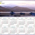 2021 Magnetic Calendar - Calendar Magnets - Today is My Lucky Day - Edition #7