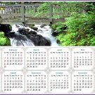 2021 Magnetic Calendar - Calendar Magnets - Today is My Lucky Day - Edition #35