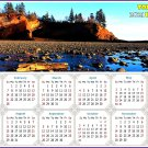 2021 Magnetic Calendar - Today is My Lucky Day - (Shepholdy Bay)