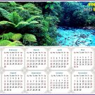 2021 Magnetic Calendar - Today is My Lucky Day - (Waipoua Kauri Reserve)