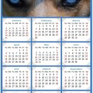 2021 Magnetic Calendar - Calendar Magnets - Today is My Lucky Day - Dogs Themed 03 (7 x 10.5)