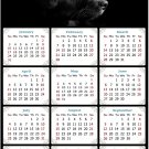 2021 Magnetic Calendar - Calendar Magnets - Today is My Lucky Day - Dogs Themed 05 (5.25 x 8)