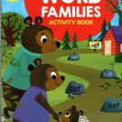 Scholastic - Word Families - Educational Workbooks Ages 5 - 7