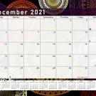 2020-2021 Monthly Magnetic/Desk Calendar - 16 Months Desktop - (Edition #12)