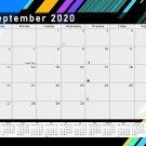 2020-2021 Monthly Magnetic/Desk Calendar - 16 Months Desktop - (Edition #13)