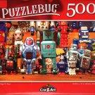 Vintage Tin Toys - 500 Pieces Jigsaw Puzzle