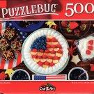 Yummy America - 500 Pieces Jigsaw Puzzle