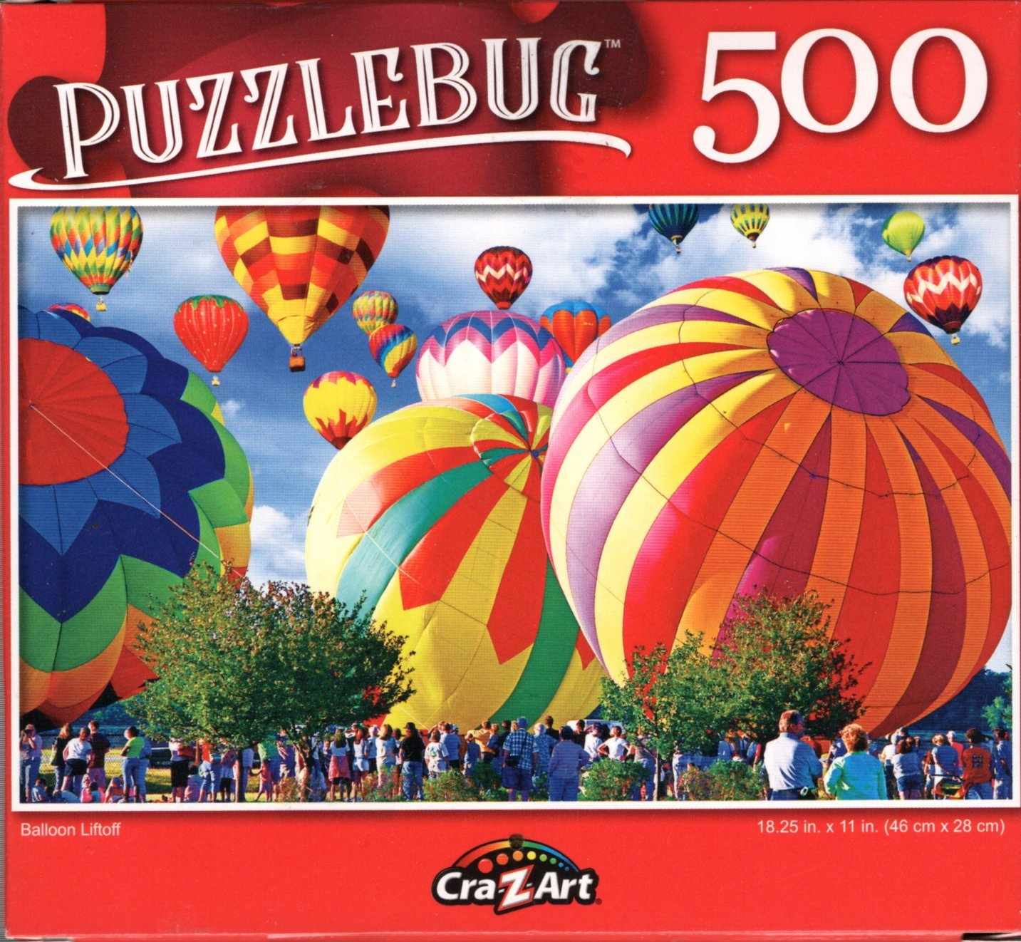 Balloon Liftoff - 500 Pieces Jigsaw Puzzle