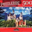 Neuschwanstein Castle, Bavaria - 500 Pieces Jigsaw Puzzle