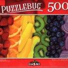 Rainbow Fruit - 500 Pieces Jigsaw Puzzle