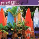 Surfboards Fence, Maui, HI - 300 Pieces Jigsaw Puzzle