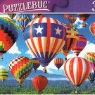 Red White and Blue Balloon Ascension - 300 Pieces Jigsaw Puzzle