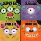 Medical Visits: Noah Big,  Olivia Big, Oliver Big, Emma Big - Set of 4 Book