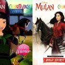 Colortivity Disney Mulan Coloring & Activity Book - Set of 2 Books