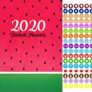 2020-2021 Student Monthly Academic Planner Calendar + 100 Reminder Stickers - v1
