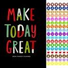 2020-2021 Student Monthly Academic Planner Calendar + 100 Reminder Stickers - v4