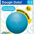Fisher-Price 4 oz Dough Dots Individual Pack, Hippo Modeling Clay