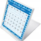 2021 CD-Style Desk Calendar 12 Months Calendar/Planner / (Edition #03)