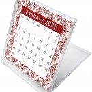 2021 CD-Style Desk Calendar 12 Months Calendar/Planner / (Edition #05)