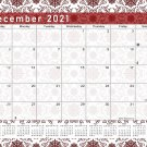 2020-2021 Monthly Magnetic/Desk Calendar - 16 Months Desktop - (Edition #14)