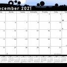 2020-2021 Monthly Magnetic/Desk Calendar - 16 Months Desktop - (Edition #15)