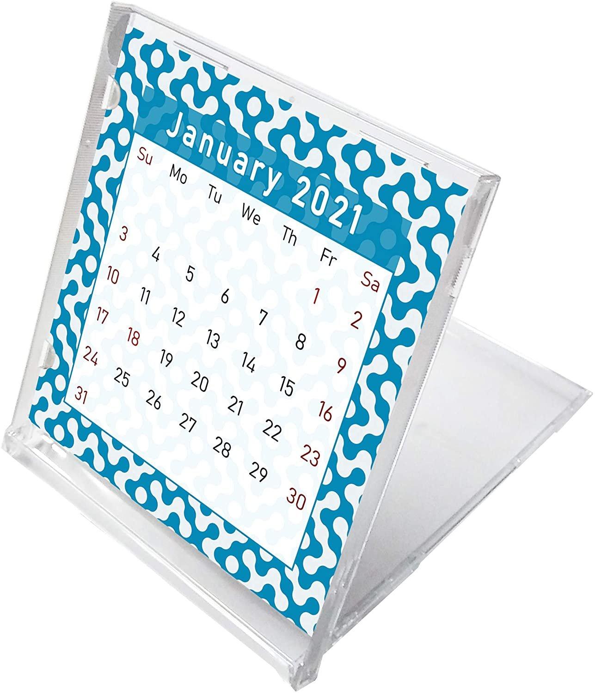 2021 CD-Style Desk Calendar 12 Months Calendar/Planner / (Edition #04)